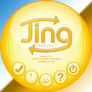 jing logo screenshot
